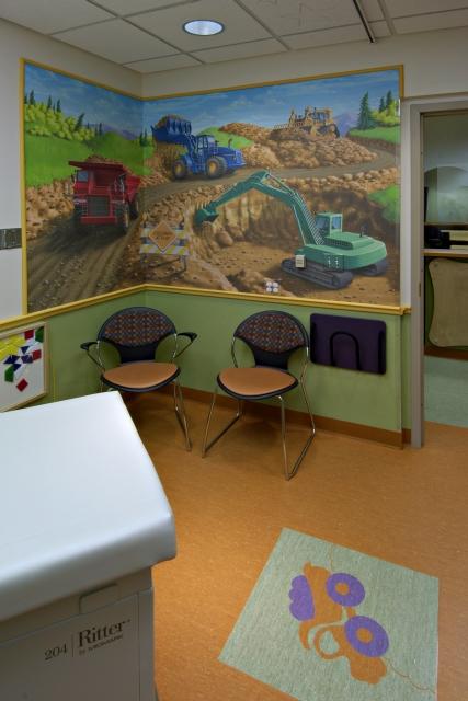 Coxhealth pediatric urgent care center creative design for Creative design consultants